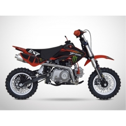 Dirt bike GunShot 50cc - Edition Monster - Rouge 2018