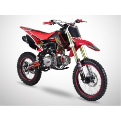 Dirt bike GunShot 125cc FX - Edition Monster - 17/14 - Rouge 2018