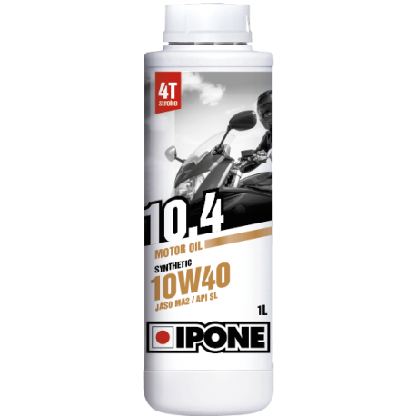 Huile IPONE 10.4 4 temps 10w40 - 1 Litres