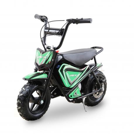 Moto enfant électrique 250W - Vert