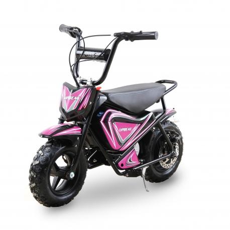 Moto enfant électrique 250W - Rose