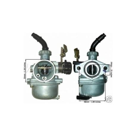 Carburateur quad 110cc et 125cc starter a cable