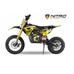 Mini Moto électrique RX 1000W - Jaune LITHIUM