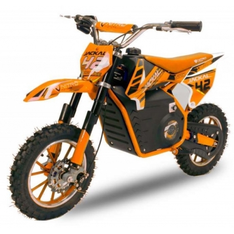 Mini Moto électrique 1000W  JACKAL - ORANGE